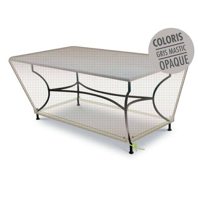JARDIDECO Housse de protection Eco pour table rectangulaire 160 x 90 x 50 cm