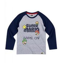 Super Mario - T-shirt à manches longues Br