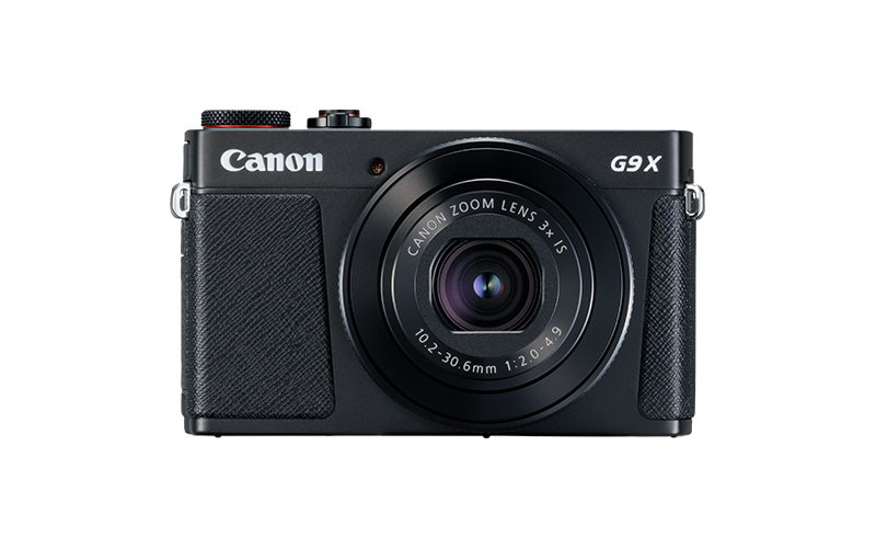 Appareil photo compact PowerShot G9 X Mark II -1717C002 - Noir