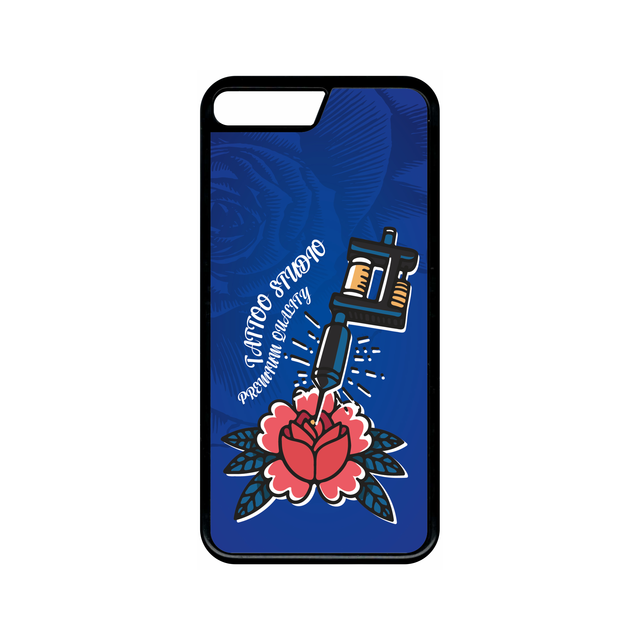 coque iphone 8 plus bleu electrique