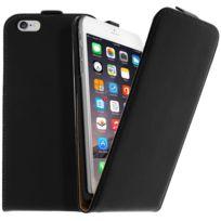 Avizar - Housse Étui Clapet Ultra-fin Apple iPhone 6 Plus - Protection Noir