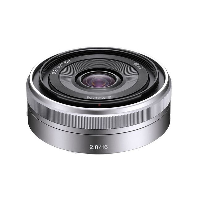 Sony Objectif Sel E 16 mm f/2.8 Pancake Garanti 2 ans