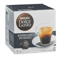 Dolce Gusto - Café Nescafé Expresso Intense dosette pour - Boîte de 16