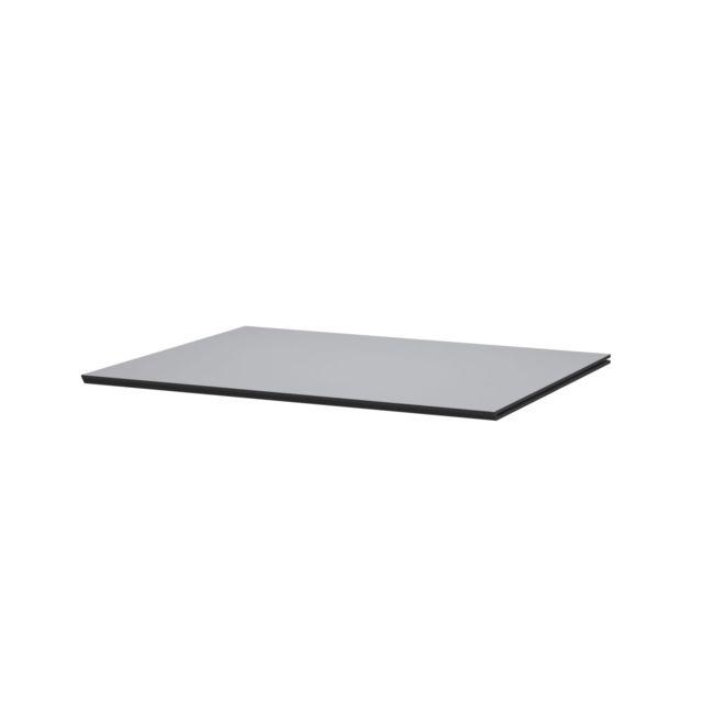 By Lassen Tablette d'étagère pour module d'armoire Frame - gris foncé - Longueur 42 cm