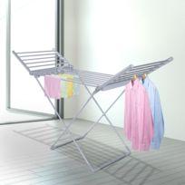 sechoir linge pliable achat sechoir linge pliable pas cher rue du commerce. Black Bedroom Furniture Sets. Home Design Ideas