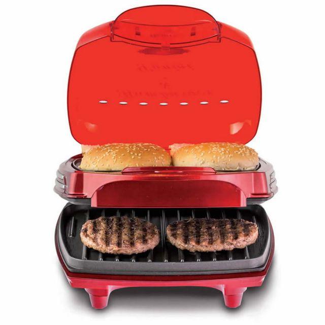 ARIETE machine à hamburger 1400w rouge - 185 rouge
