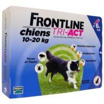 Frontline - Tri-Act 6x2ml - Pour chien de 10-20kg
