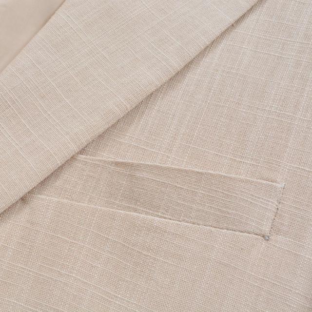 9c7b69ed2a GÉNÉRIQUE - Vêtements ligne Dakar Icaverne Complet à 2 pièces Lin Taille 48  Beige
