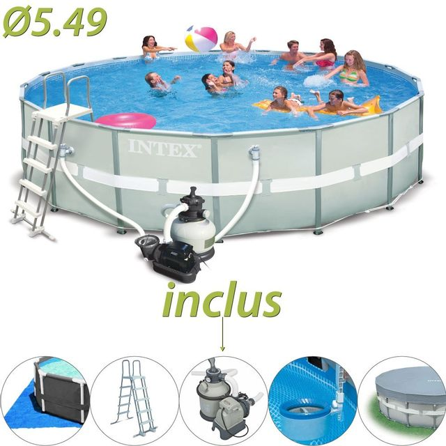 piscines tubulaires intex awesome piscine tubulaire intex. Black Bedroom Furniture Sets. Home Design Ideas