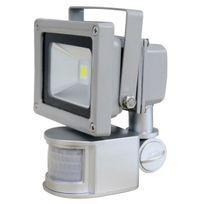 Solairepratique - Projecteur led 12V, 10W, detection de mouvement