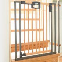 Geuther - Barriere de sécurité pour escalier Easylock Wood 84/92cm