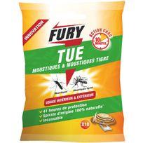 Fury - Tue moustiques et moustiques Tigre x10