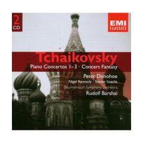 Emi Music France - Tchaïkovski : Concertos pour piano n 1 à n 3 - Fantaisie de concert op. 56