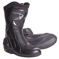 Bering - bottes moto cuir Sport Gt route étanche X-road noir Bbo100 T 46 Fr
