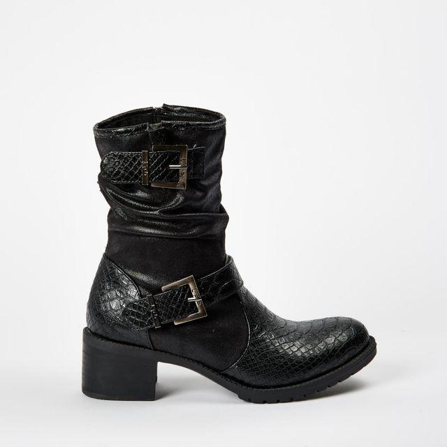 Lpb Shoes-les Petites Bombes - Botte Elina Noir - pas cher Achat ... 822983525be5