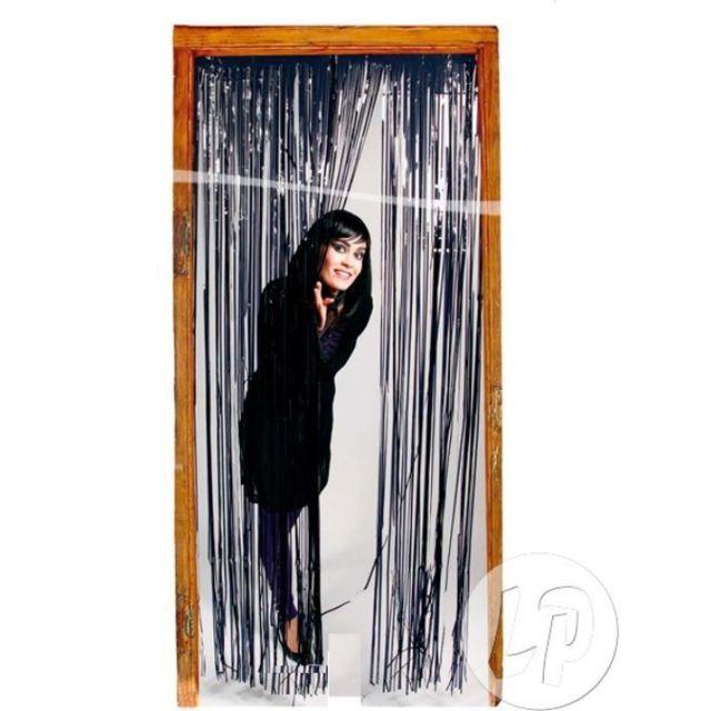 Coolminiprix Lot de 3 - Rideau de porte métallisé noir - Qualité Ce produit est vendu par lot de 3 pièces.Même si sur la photo il y a plusieurs pièces, vous recevrez 3 unités - Lot de 3 - 1x rideau de porte metallisé noir, hauteur 2m, largeur 1m