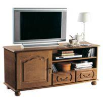 - Meuble Tv bas 1 porte 2 tiroirs