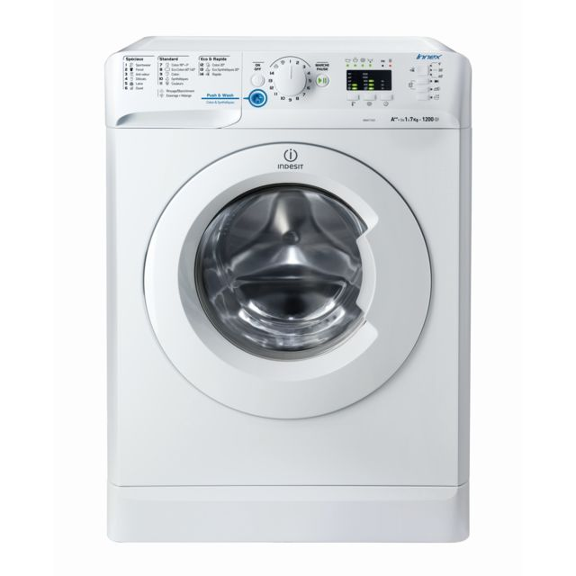 Indesit - Lave-linge frontal - XWA 71252 W FR