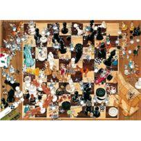 Heye - Puzzle 1000 pièces - Degano : Noir ou blanc