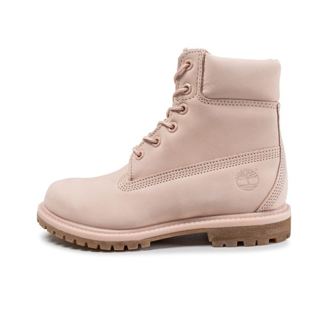 513ef0cd801 Timberland - 6-inch Premium Boots Rose - pas cher Achat   Vente ...