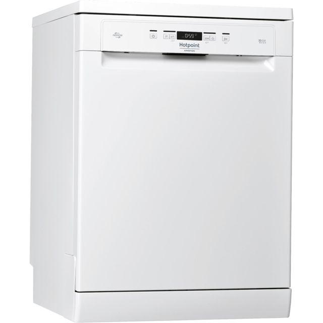 HOTPOINT lave-vaisselle 60cm 14c 42db a++ pose-libre blanc - hfo3t222wg