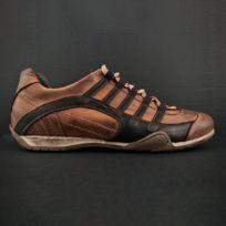 Gulf , Chaussures Grand Prix Original Cognac en cuir pour homme