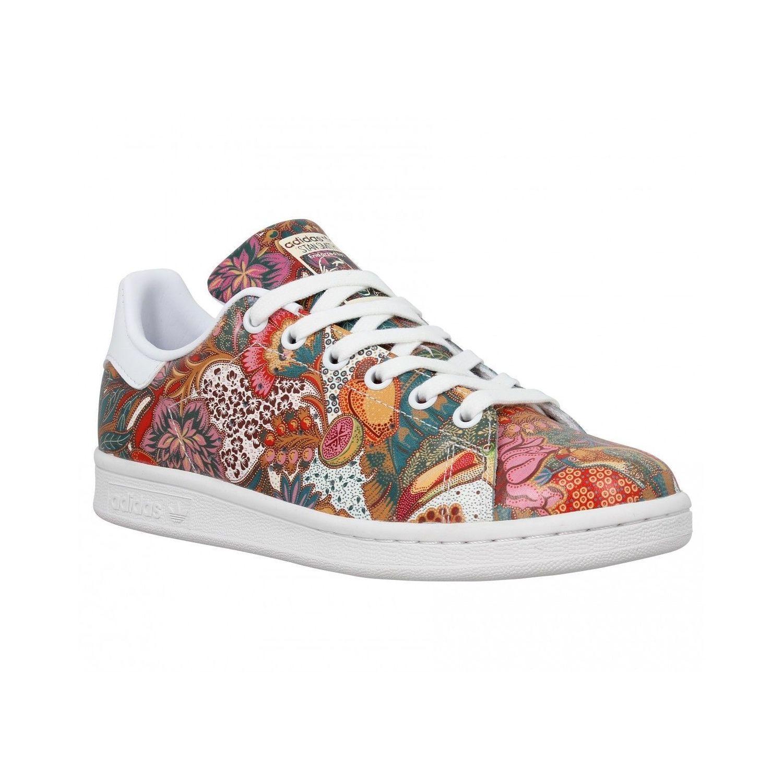 stan smith a fleur Adidas original chaussures,adidas