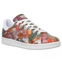 Adidas - Stan Smith cuir Femme-40-Multi Blanc