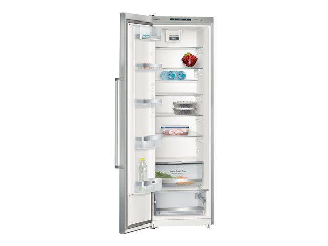 SIEMENS - réfrigérateur 1 porte 60cm 346l a++ brassé inox/argent - ks36vai31
