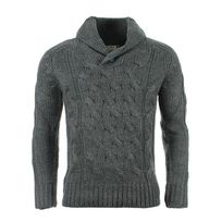 Crossby - Pull Twin Gris Anthracite