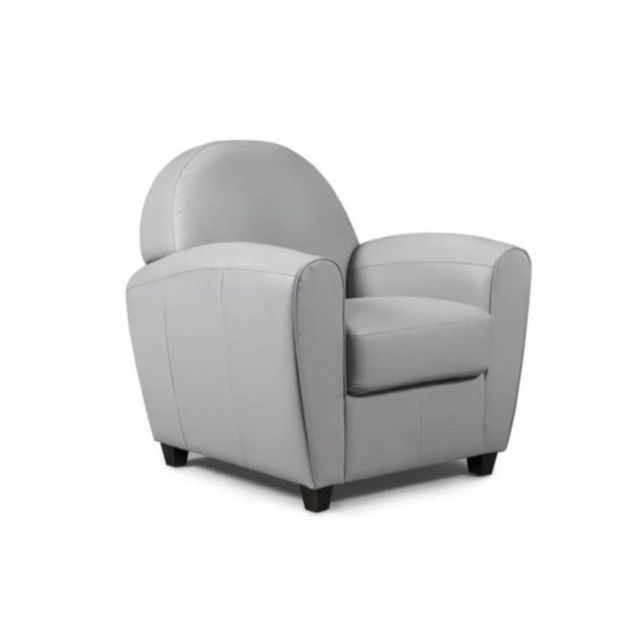 inside 75 fauteuil club bufallo gris clair sebpeche31. Black Bedroom Furniture Sets. Home Design Ideas