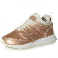 Le Coq Sportif - Chaussures Omega X Inf Metallic Rose Or Bébé Fille