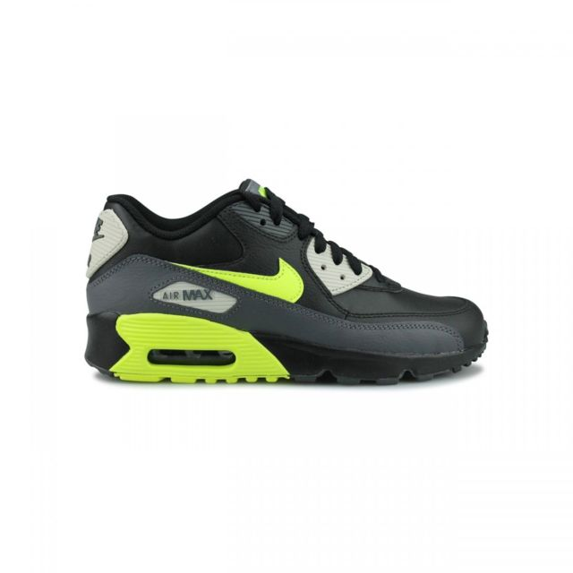 more photos 69f59 c18ad Nike - Basket Nike Air Max 90 Leather Junior - 833412-023