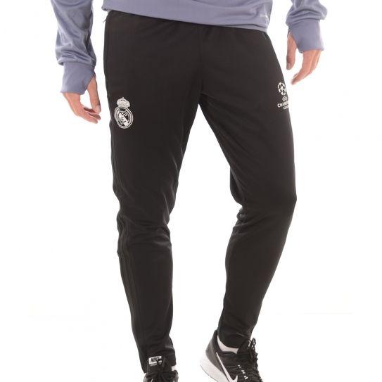 1a5de632da2 Adidas performance - Pantalon Real Madrid Eu Pre Noir h16 - pas cher Achat    Vente Survêtement homme - RueDuCommerce