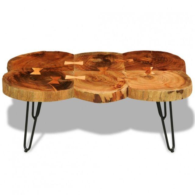 Maja Table Basse Table D Appoint En Bois Massif Sheesham