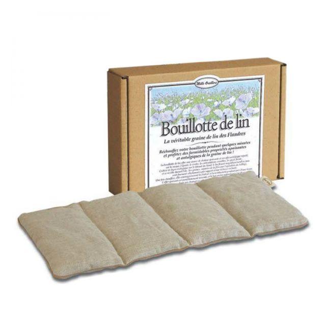 Mille oreillers - Bouillotte en graines de lin