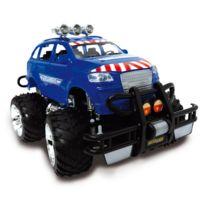 Motor & Co - Jeep Radiocommandée Police 28 cm