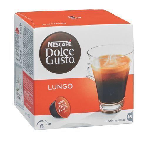dolce gusto caf nescaf lungo en dosette pour bo te de 16 pas cher achat vente dosette. Black Bedroom Furniture Sets. Home Design Ideas