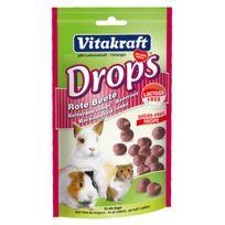 Vitakraft - Drops betterave rouge sans lactose - Tout Rongeur