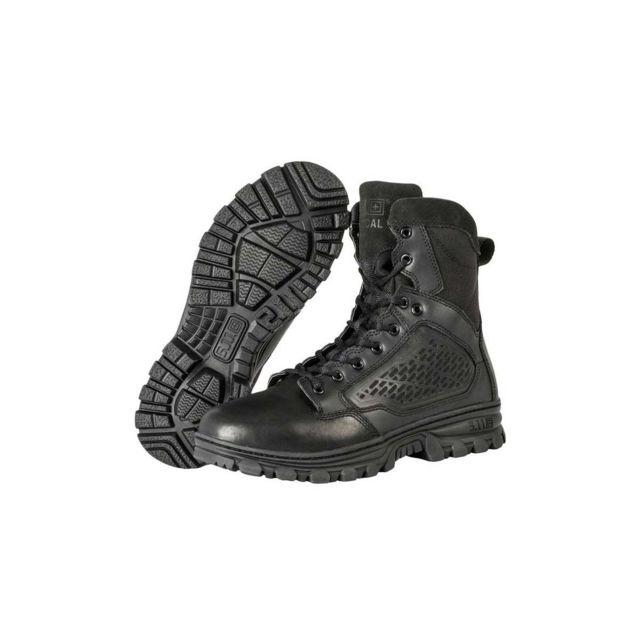 5.11 Tactical Chaussures Evo 6' Side Zip noir