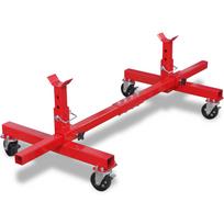 Justdeco - Superbe Support mobile d'essieu Rouge neuf