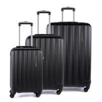 Alpini - Lot de 3 valises rigide 4 roues Selecta Metzelder