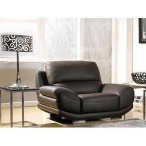 La maison du canap fauteuil en cuir barcelona marron for La maison du cuir