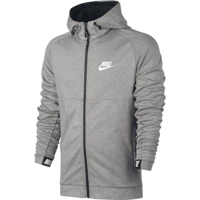 d96113c49d6 Nike - Sweat à capuche Sportswear Advance 15 - 861742-063 - pas cher Achat    Vente Sweat homme - RueDuCommerce