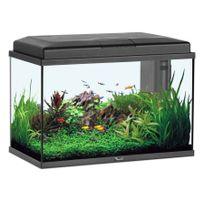 Aquatlantis - Aquarium Aquastart 55 Led Noir 57 Litres