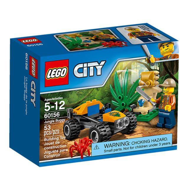 lego 60156 city le buggy de la jungle pas cher achat vente lego rueducommerce. Black Bedroom Furniture Sets. Home Design Ideas