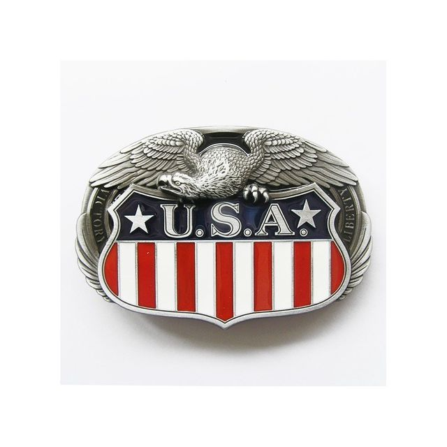 Universel - Boucle de ceinture aigleet blason des Usa etats unis ... 88ae877e16c