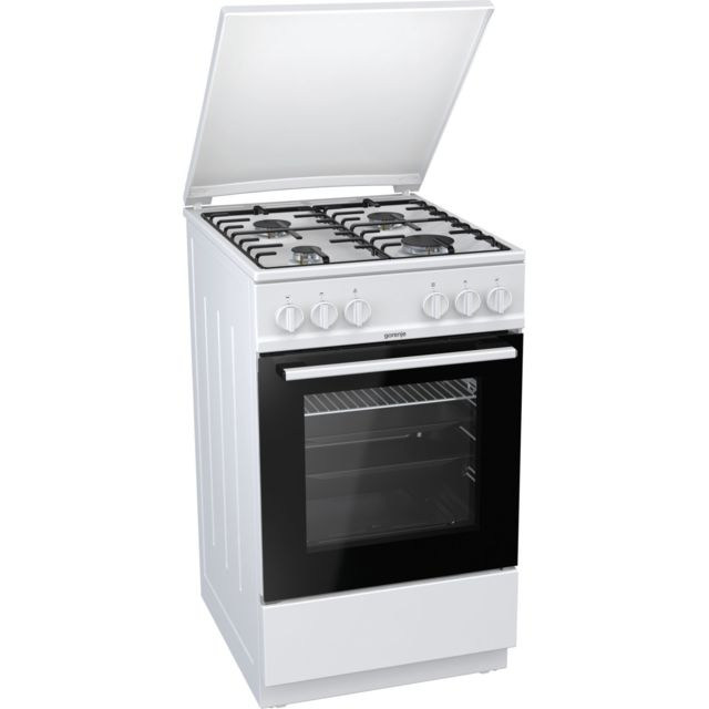 GORENJE Cuisinière à gaz - G5110WH - Blanc