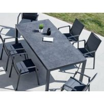 Table jardin ardoise - catalogue 2019 - [RueDuCommerce - Carrefour]