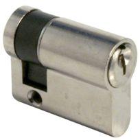 Tesa Securite France - Cylindre De Serrure Te.5 Tesa - Coloris Nickele Varie - Type:1/2 cyl Dim. mm:10 x 30